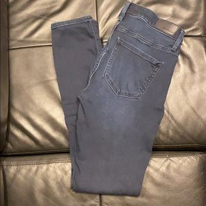 Express Super Skinny Mid Rise Jeans